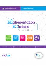 Réglementation solutions : l'ouvrage de Cegibat de référence