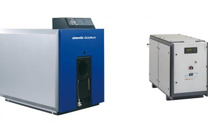 Chaudière à condensation + module cogénération