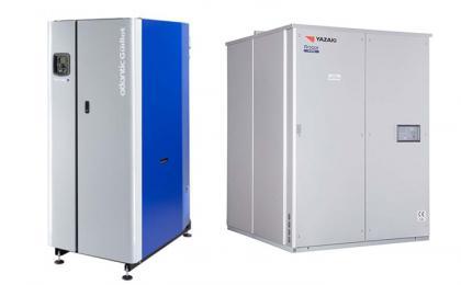 Chaudière à condensation et groupe froid à absorption
