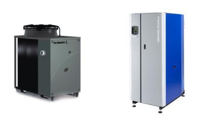 PAC absorption aérothermique et Chaudière à condensation
