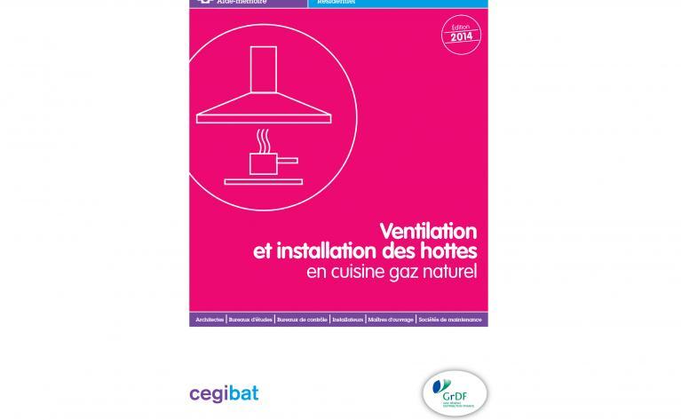 Aide-mémoire Ventilation et installation hotte en cuisine