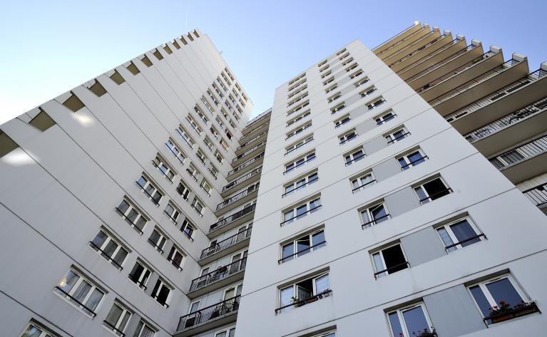 Immeuble logements sociaux