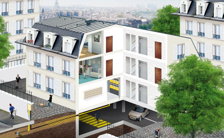 Alimentation gaz en logements collectifs - CICM