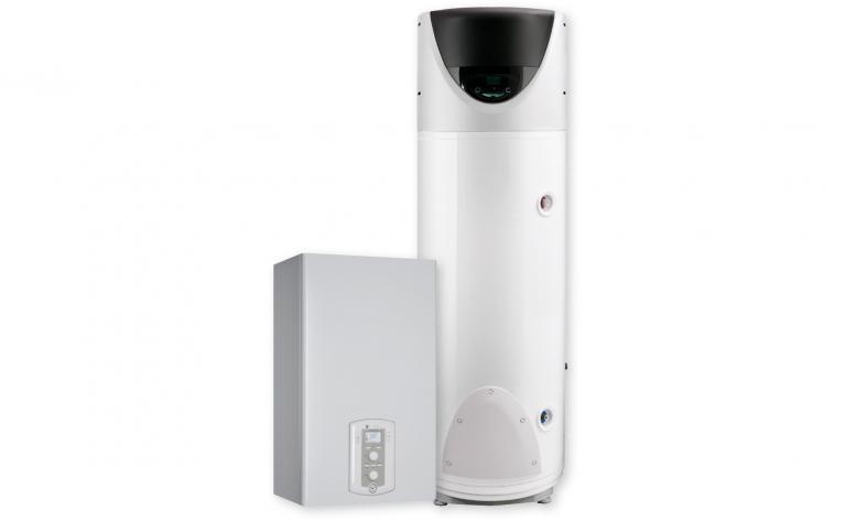 Chaudière individuelle + chauffe-eau thermodynamique