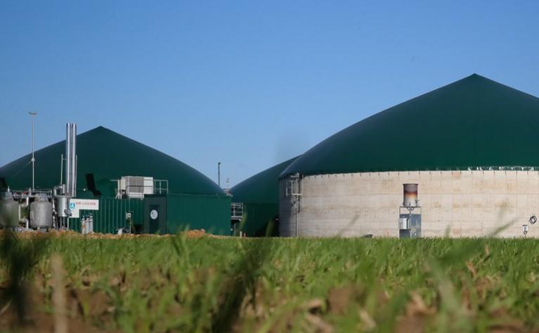Biométhane - Site de méthanisation