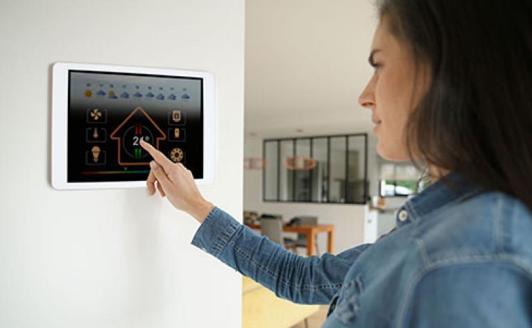 Le gaz dans l'écosystème du logement connecté