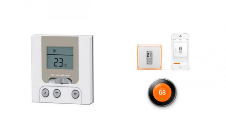 Thermostat connecté programmable