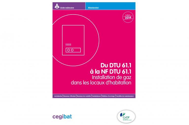 Aide mémoire NF DTU 61.1