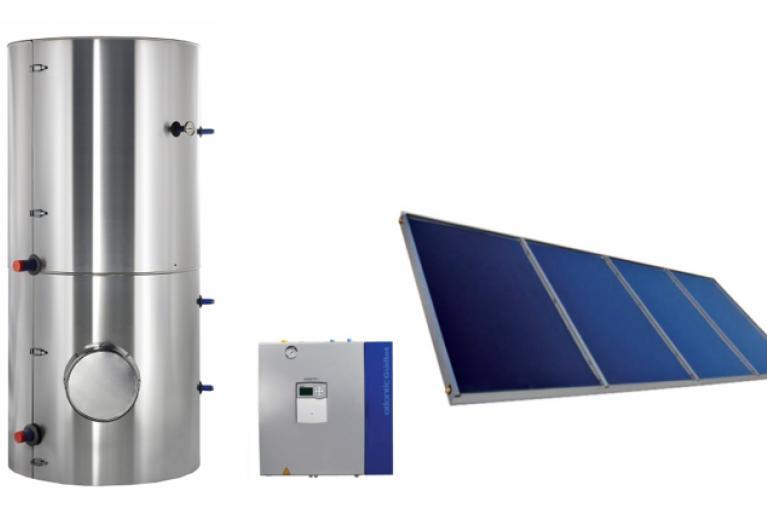 Chauffe eau solaire collectif
