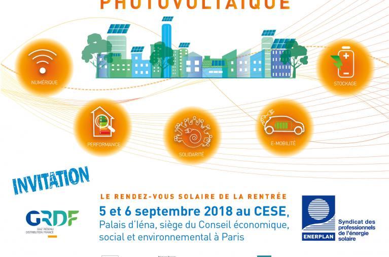 Enerplan - Université été 2018 autoconsommation photovoltaique