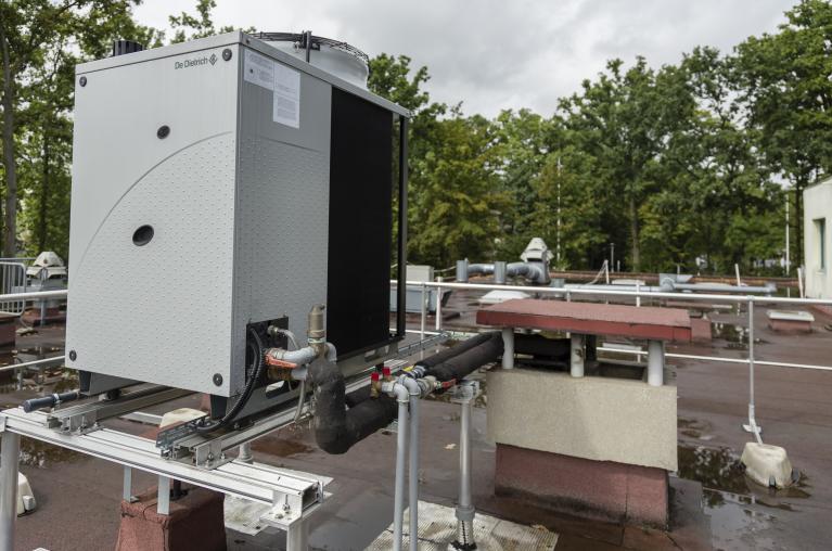 PAC gaz à absorption aérothermique en toiture