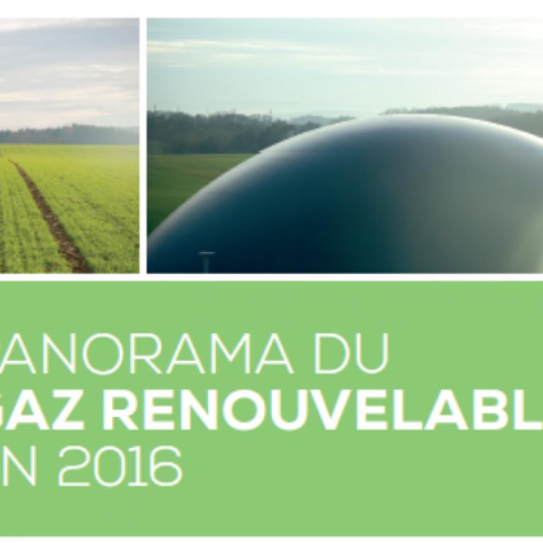 Panorama gaz renouvelable 2016