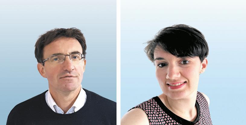 BIM - Stéphane Bodin (Enertek) et Clémence Guinin (OTE Ingénierie)