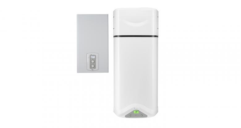 Chaudière à condensation et CET hybride