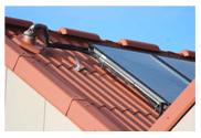 Contre-pente sur une installation solaire