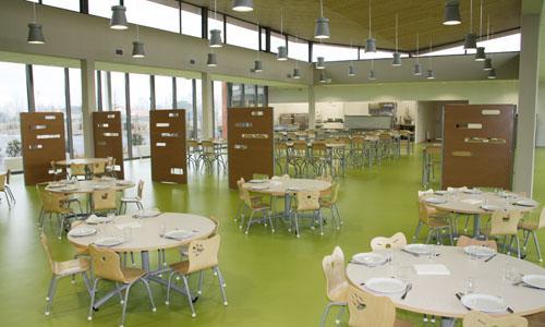 Groupe scolaire Carbonne - Vue intérieure