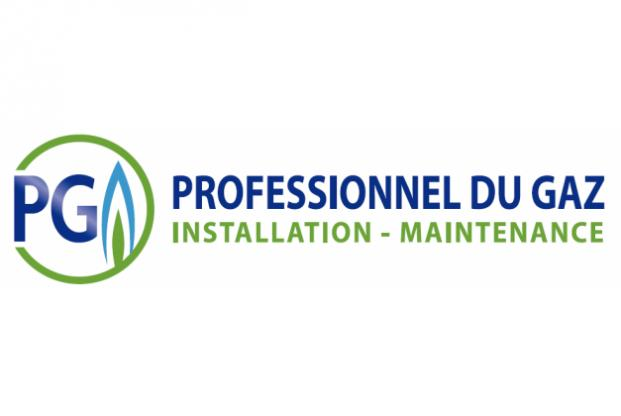 Logo PG professionnel du gaz
