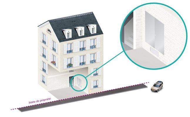 Placard technique gaz (PTG) en immeuble collectif - GRDF CEGIBAT