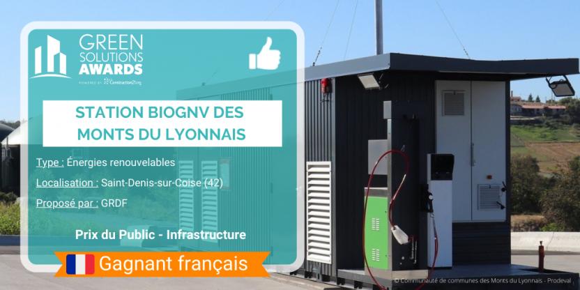 GSA 2021 - Station bioGNV Monts du Lyonnais