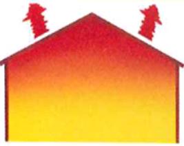 Un débit d'air insuffisant conduit à une stratification importante de l'air qui occasionne des pertes importantes par la toiture et un inconfort