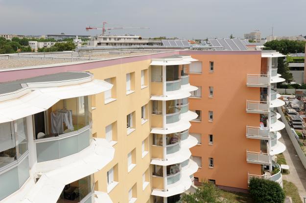 Cité Saint Roch - 90 logements sociaux à Montpellier (34) - Vue extérieure 2