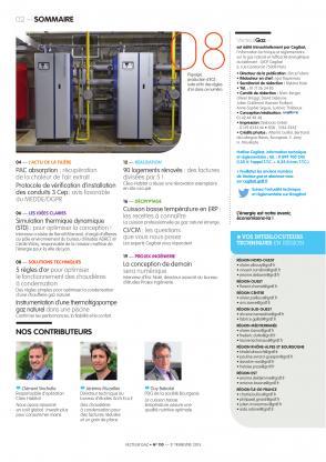Vecteur gaz 110 - Sommaire