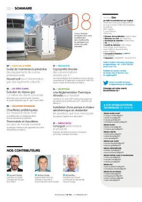 Vecteur gaz 118 - Sommaire