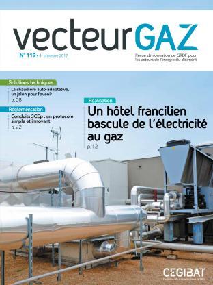 Vecteur gaz 119 - Couverture