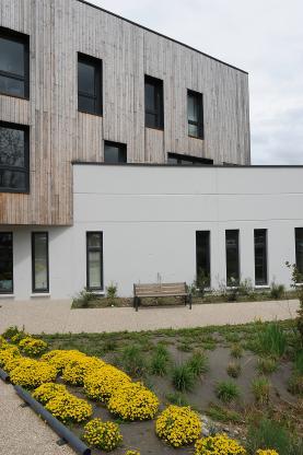 Bureaux Seine Ecopolis - façade