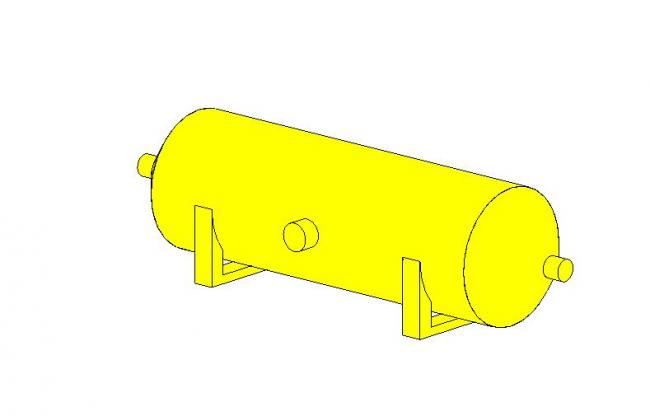 Volume tampon gaz BIM
