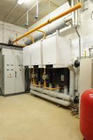 Groupe scolaire Guignes 77 - 3 chaudières gaz à condensation de 114 kW chacune