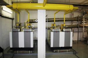 Chaudières gaz à condensation et circuits secondaires animées par hydroéjecteurs.