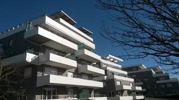 Logements Bepos Effinergie 2013 à Anglet (64) - Vue extérieure