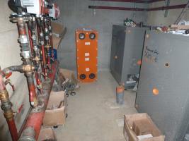 Réseau de chaleur alimenté par les deux PAC gaz à absorption géothermique sur nappe
