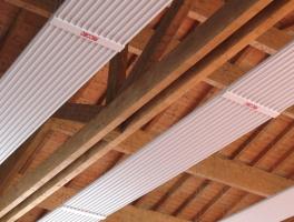 Panneaux rayonnants à fluide thermique