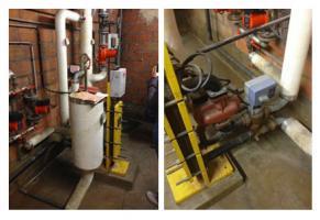 Pompe de bouclage ECS et échangeur à plaque (mode de production instantané)