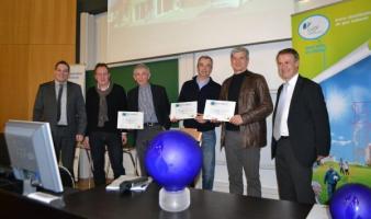 Marckolsheim – Cérémonie de remise des prix : GAZosphère - CEGIBAT