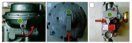 Organe de coupure gaz - détendeur régulateur